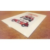 Monte Carlo Mini - Paddy Hopkirk Inspired Illustration Gift Print - A4