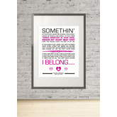 CHANTAL KREVIAZUK - FEELS LIKE HOME Lyrics Print Gift Wall Art Present A4