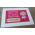 Personalised Birthday Wedding Christmas Sisters Friends Doll - A4